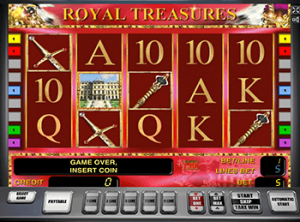 Автомат Royal Treasures в казино Вулкан Удачи