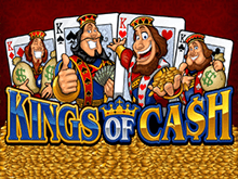 Поймайте удачу за хвост в слоте Kings Of Cash